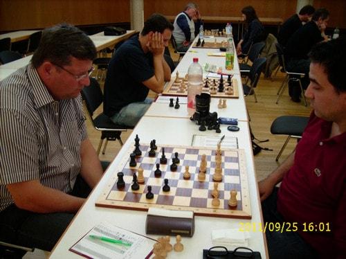 Schachfreunde Frankfurt III Runde 1