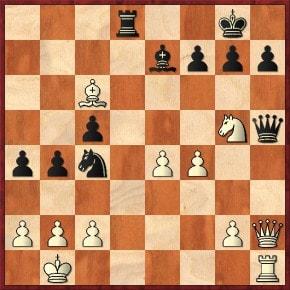 Schachfreunde Frankfurt 1921 e.V. Schach lernen, Schach trainieren, SchachspielenGrundlinienmatt: 1. ... Dd1+ 2.Txd1 Txd1# Taktikaufgaben I
