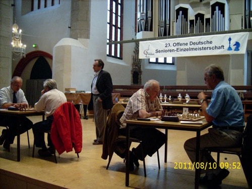23. Deutsche Senioren-Einzelmeisterschaft in Halle