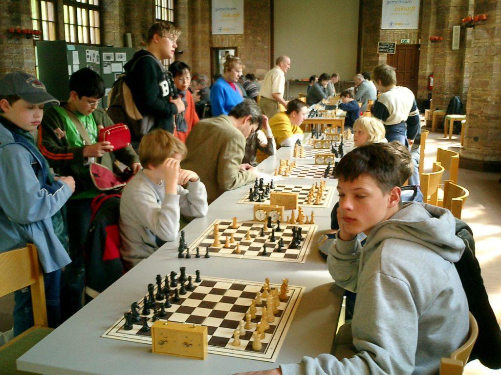Entspannung vor der nächsten Runde Schachfreunde Frankfurt 1921 e.V.