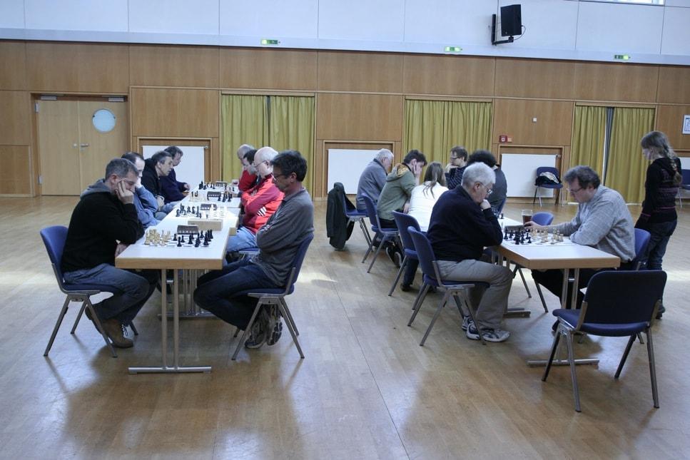 Schnellschach Serie 2011/12: Rating Gruppen / Sieger