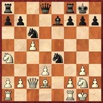 1. ... Sd4 2.Dd1 Sxd2 3.Dxd2 Sf3+ +- Schachfreunde Frankfurt 1921 e.V.