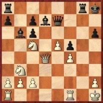 1. ... Le6 und der Springer c5 kann nicht mehr verteidigt werden. Schachfreunde Frankfurt 1921 e.V.