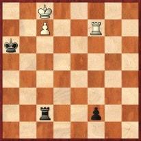 1.Kb8 Tb2+ 2.Ka8 Tc2 3.Tf6+ Ka5 4.Kb7 Tb2+ 5.Ka7 Tc2 6.Tf5+ Ka4 7.Kb6 Tb2+ 8.Ka6 Tc2 9.Tf4+ Ka3 10.Kb6 Tb2+ 11.Ka5 Tc2 12.Tf3+ Ka2 13.Txf2 Txf2 14.c8D +- Schachfreunde Frankfurt 1921 e.V.
