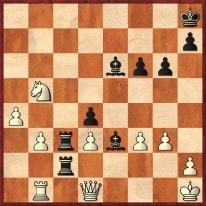 1. ... Lh3 2.Dg1 (anders kann das Matt auf g2 nicht verhindert werden) Lxg1 +- Schachfreunde Frankfurt 1921 e.V.