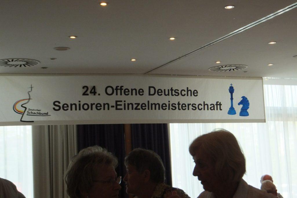 24. Offene Deutsche Seniorenmeisterschaft Schachfreunde Frankfurt 1921 e.V.