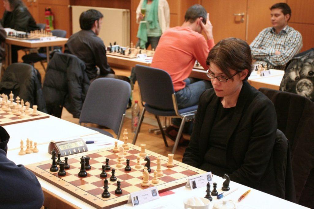 Beate Troeger - VM2012 Schachfreunde Frankfurt 2013