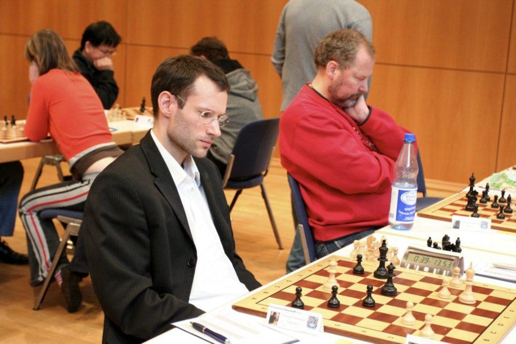 Ostermeier und H.-P. Roggensack - VM2013 Schachfreunde Frankfurt 2013 Schachfreunde Frankfurt 1921 e.V.