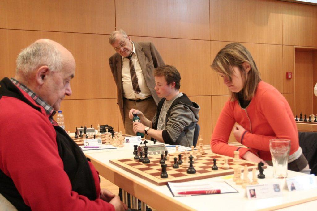 Rolf Reichel und Esther Imelmann Schachfreunde Frankfurt 1921 e.V.