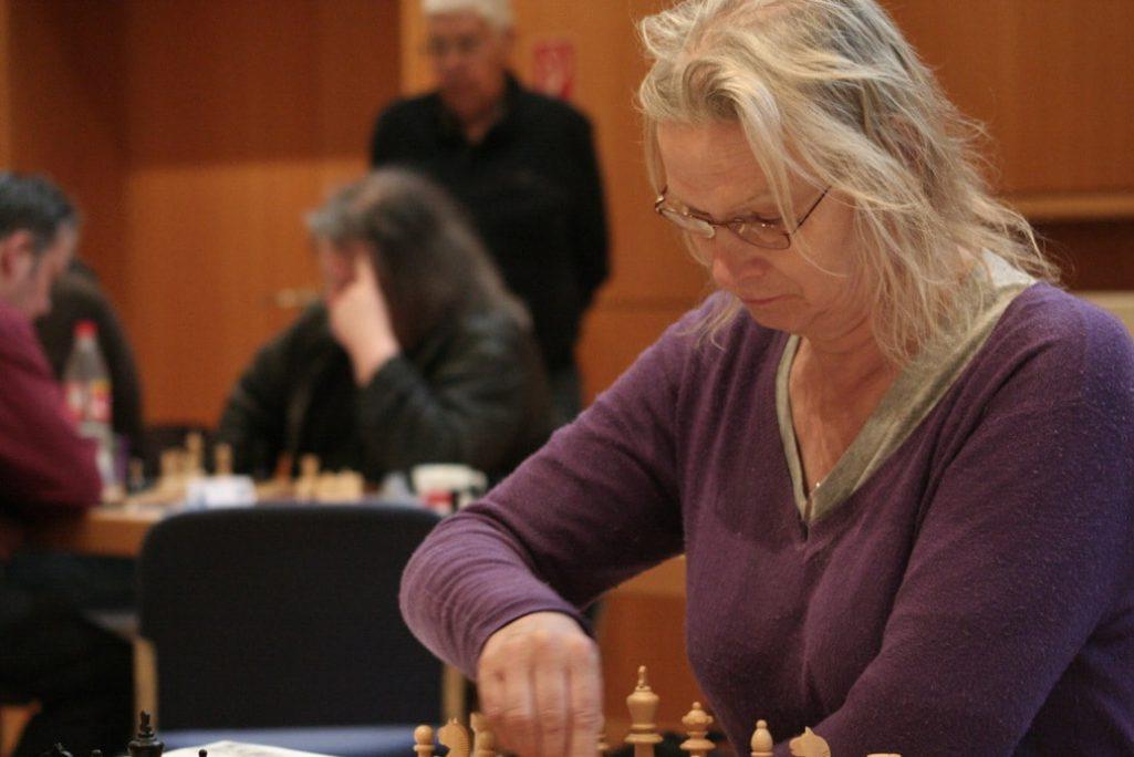 Die Vorjahres-Siegerin der Gruppe B Schachfreunde Frankfurt 1921 e.V.