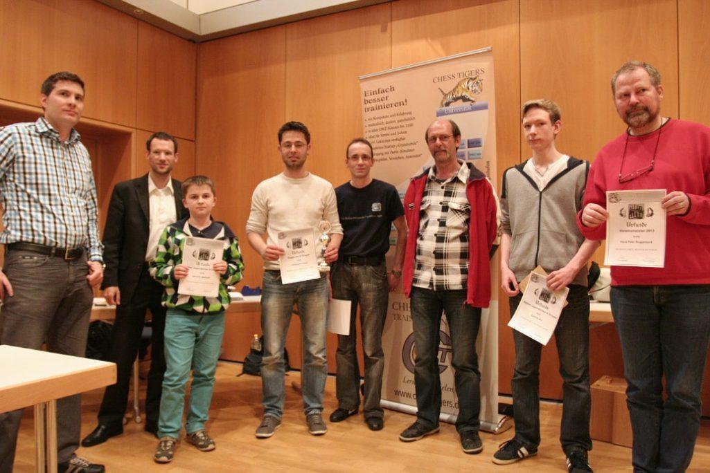 Vereinsmeisterschaft 2013 — Schachfreunde Frankfurt 1921 e.V. Schachfreunde Frankfurt 1921 e.V.