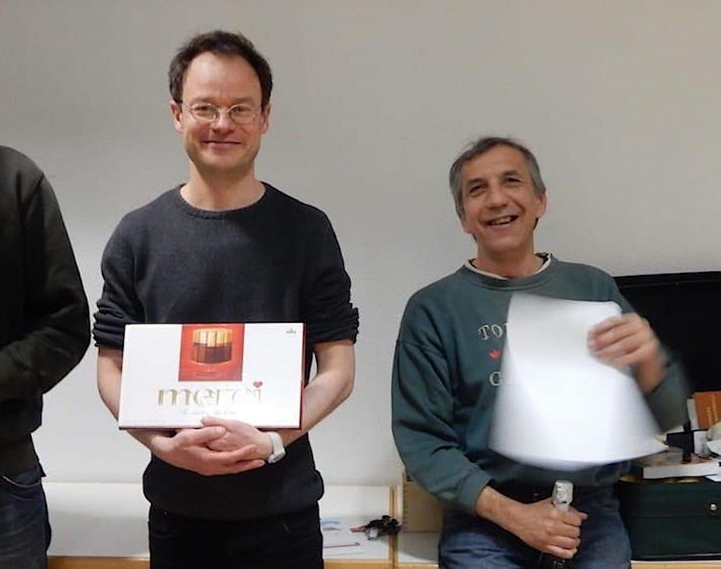 Sieger Schnellschach Serie 2016 - Omri Schlesinger